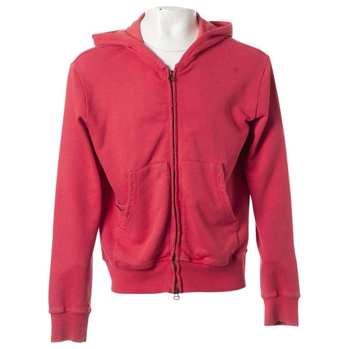 Pierre Balmain \N Red Cotton Knitwear & Sweatshirts for Men L International
