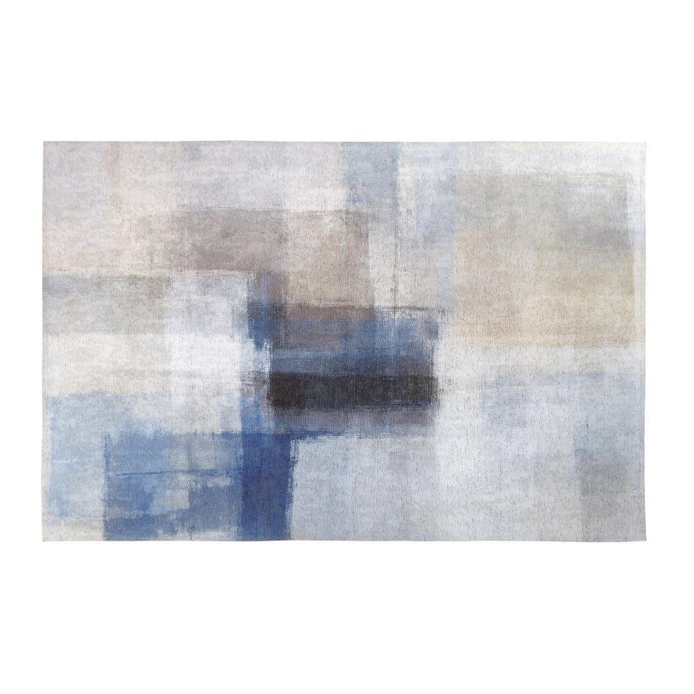 Teppich mit mehrfarbigem Patchwork-Effekt 140x200