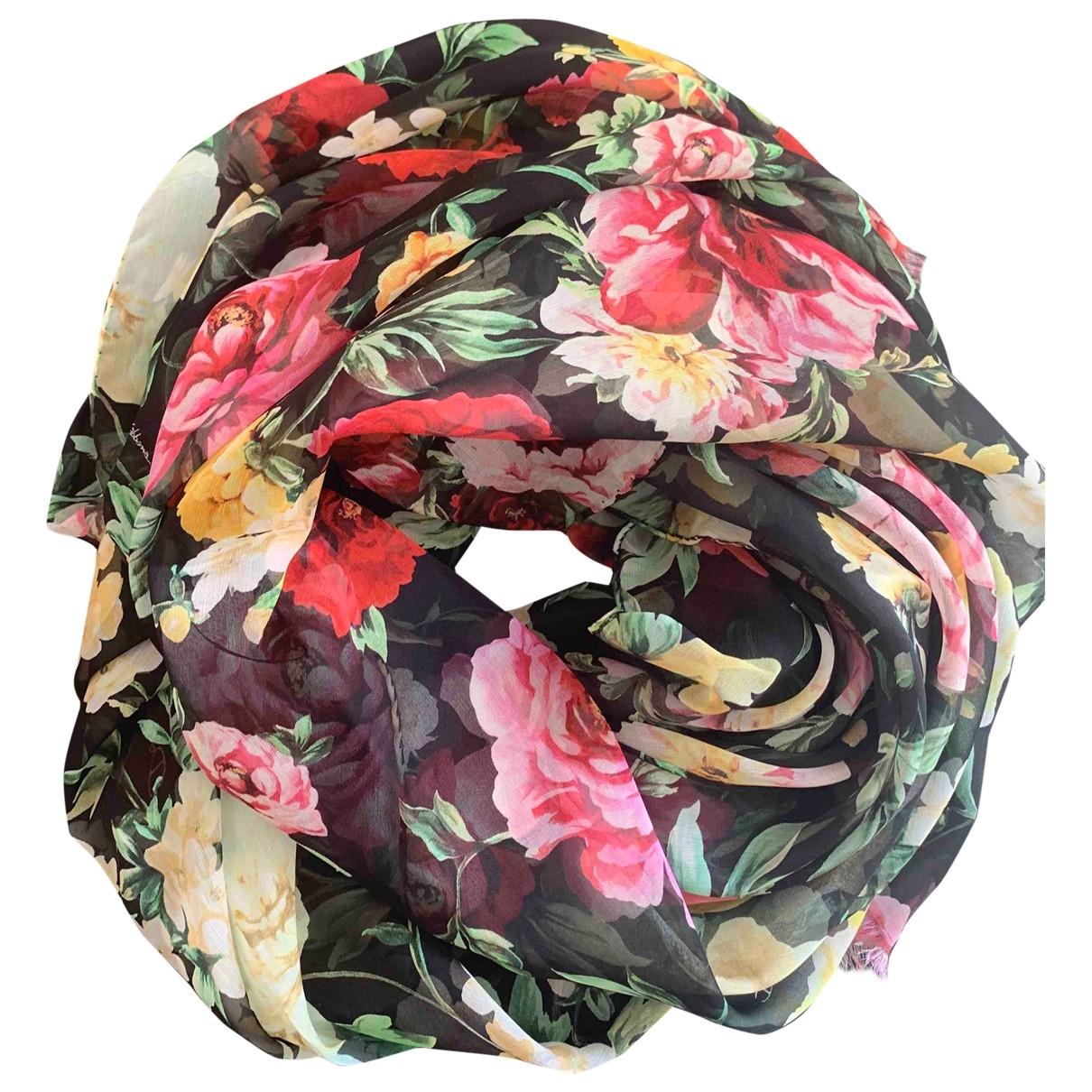 Dolce & Gabbana \N Multicolour Silk scarf for Women \N