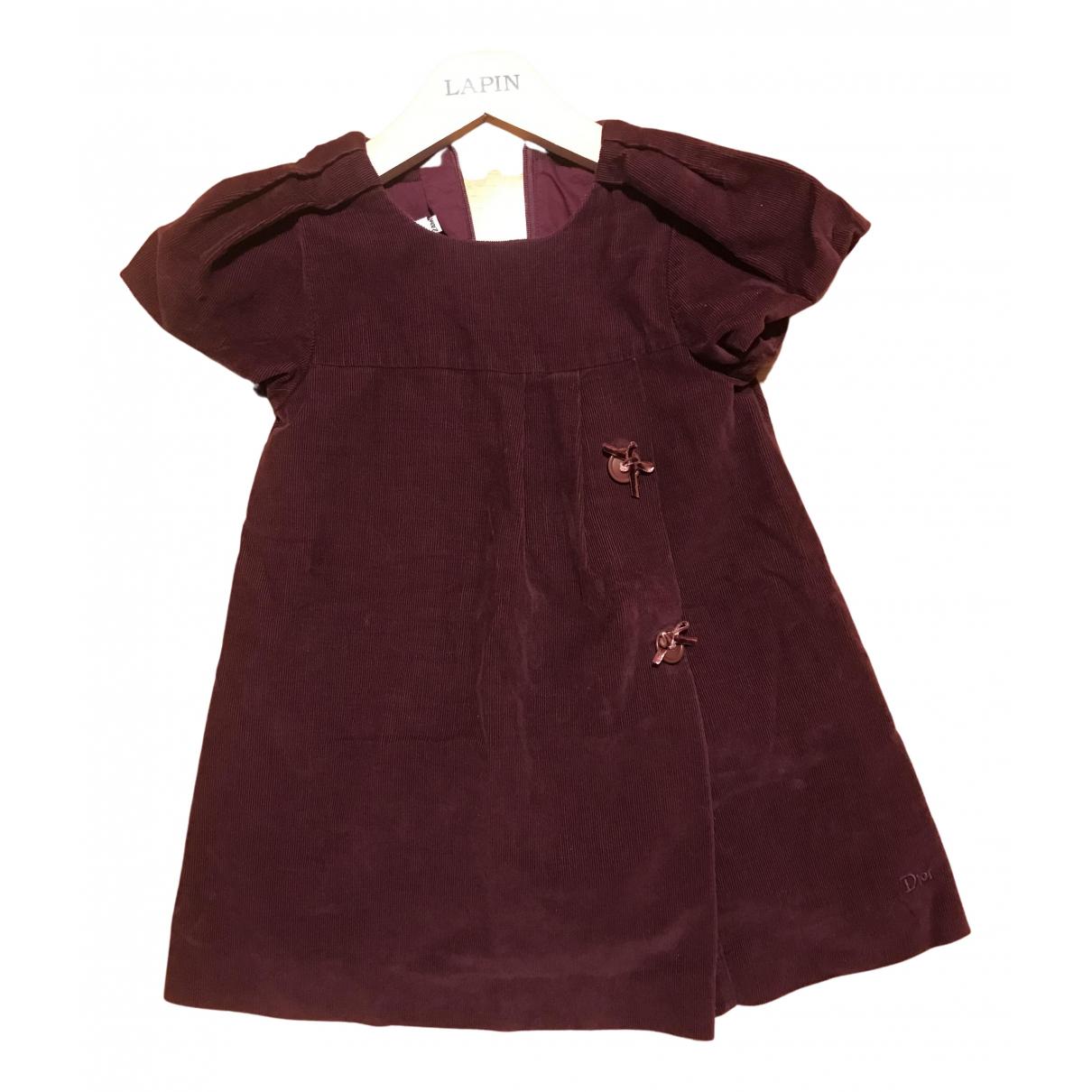 Baby Dior \N Kleid in  Lila Baumwolle