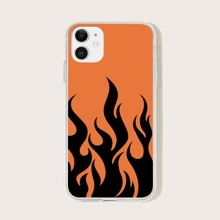 Flame Print iPhone Case