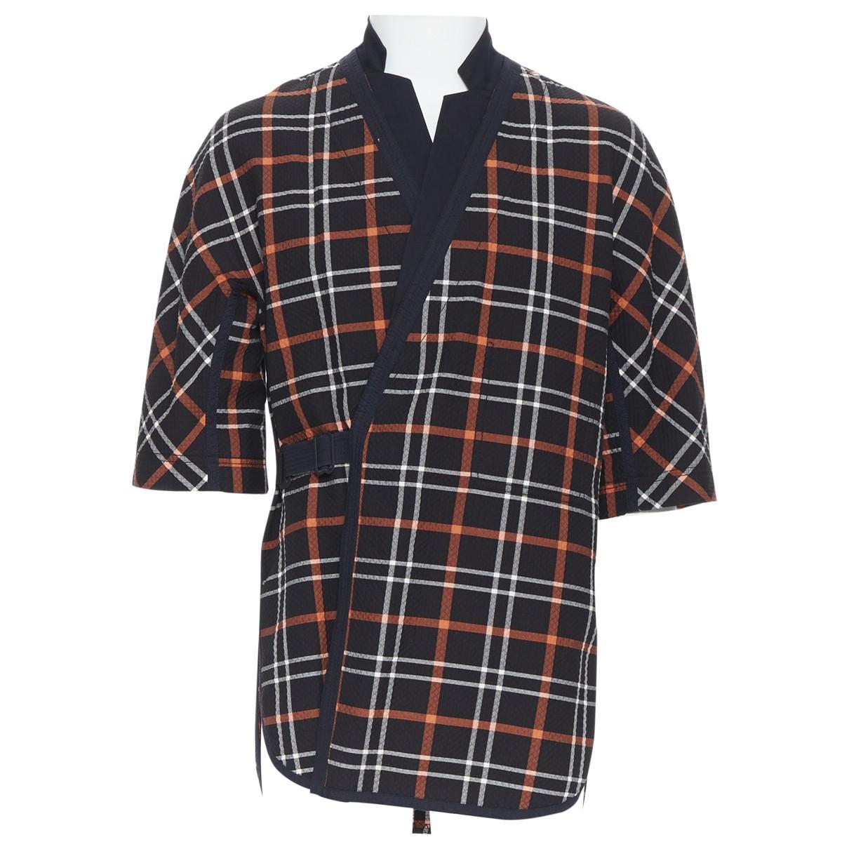 3.1 Phillip Lim - Chemises   pour homme en coton - noir
