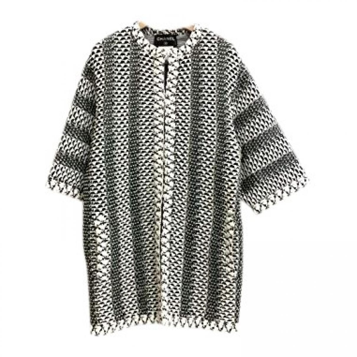 Chanel \N Jacke in  Grau Baumwolle
