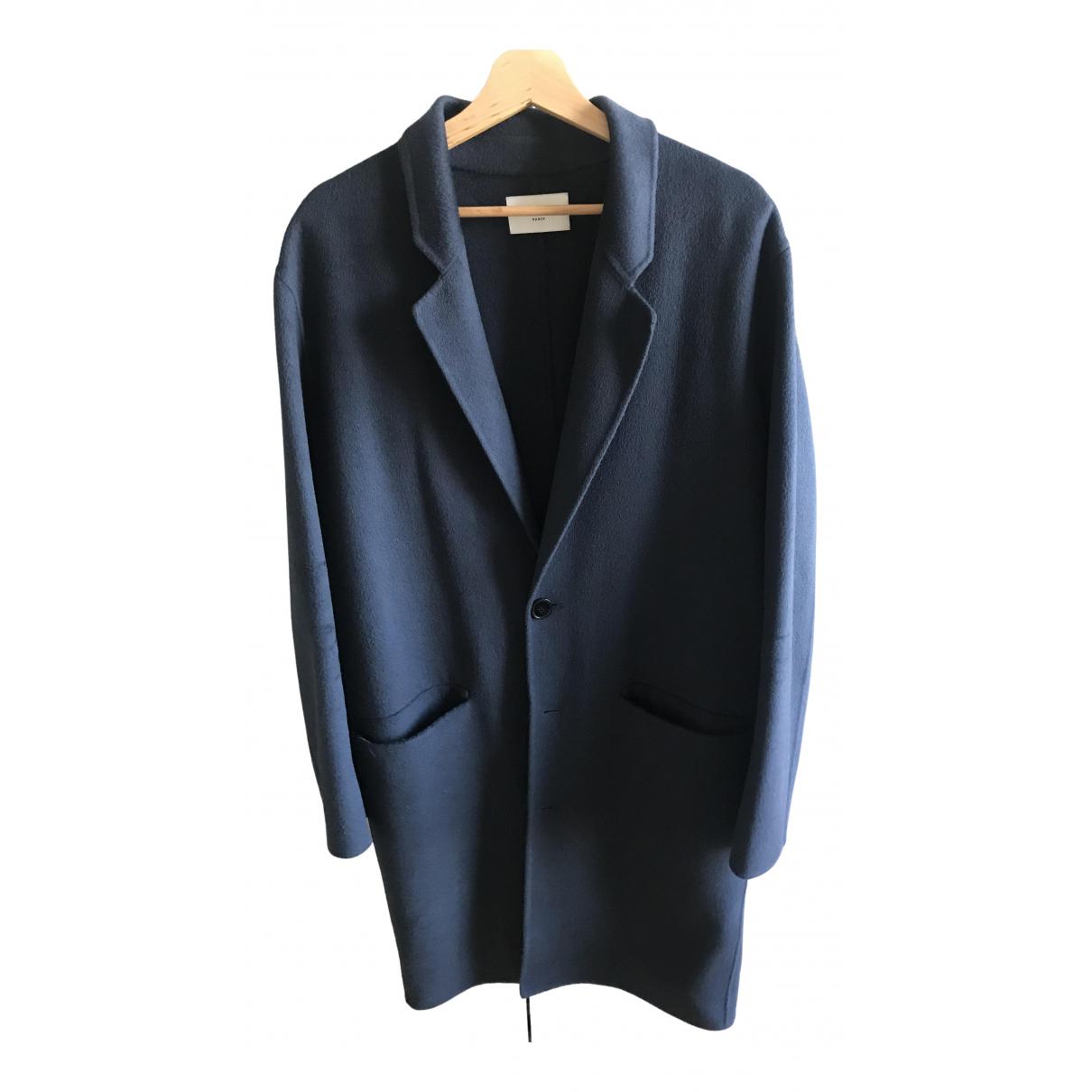 Sandro \N Maentel in  Blau Wolle