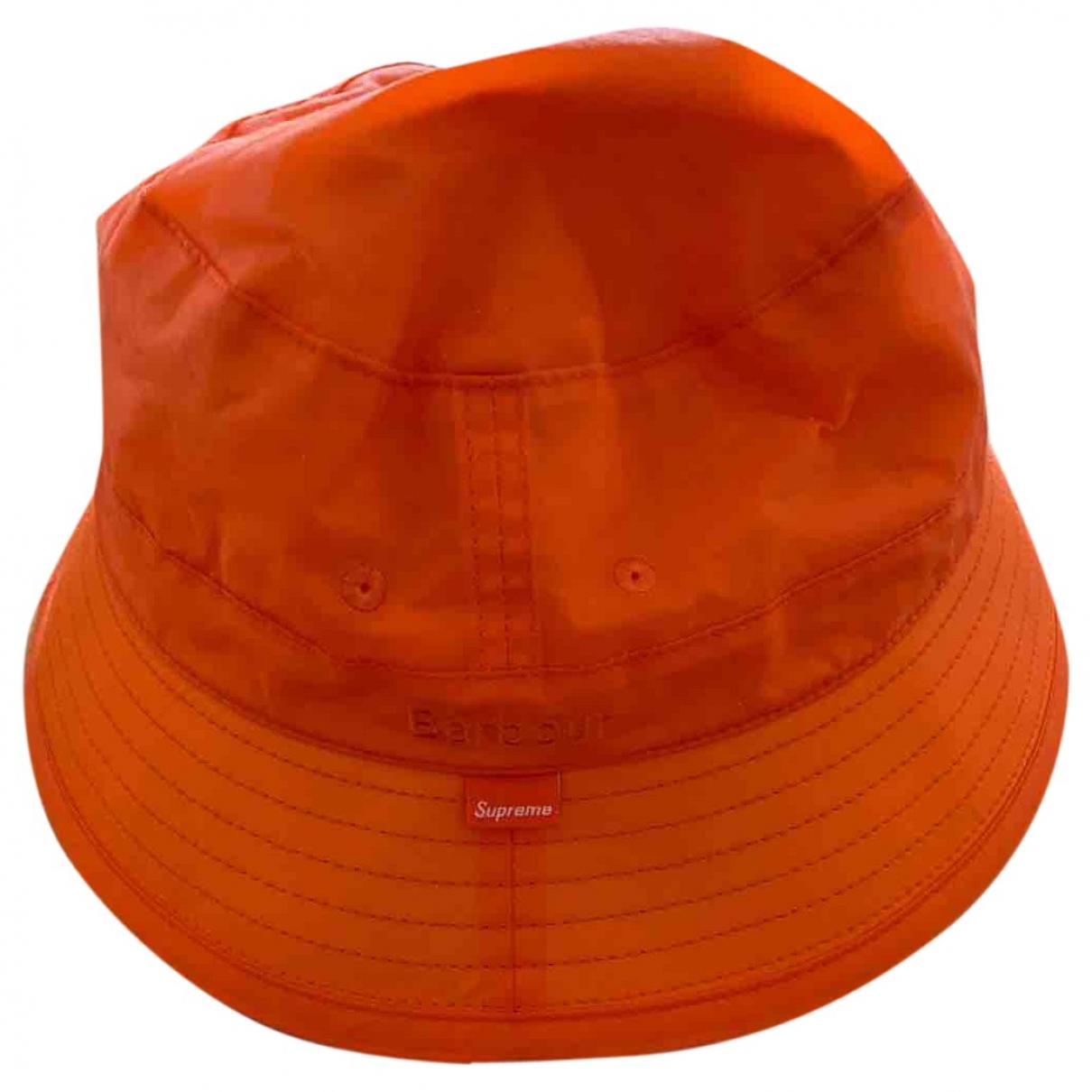 Supreme - Chapeau & Bonnets   pour homme en coton - orange