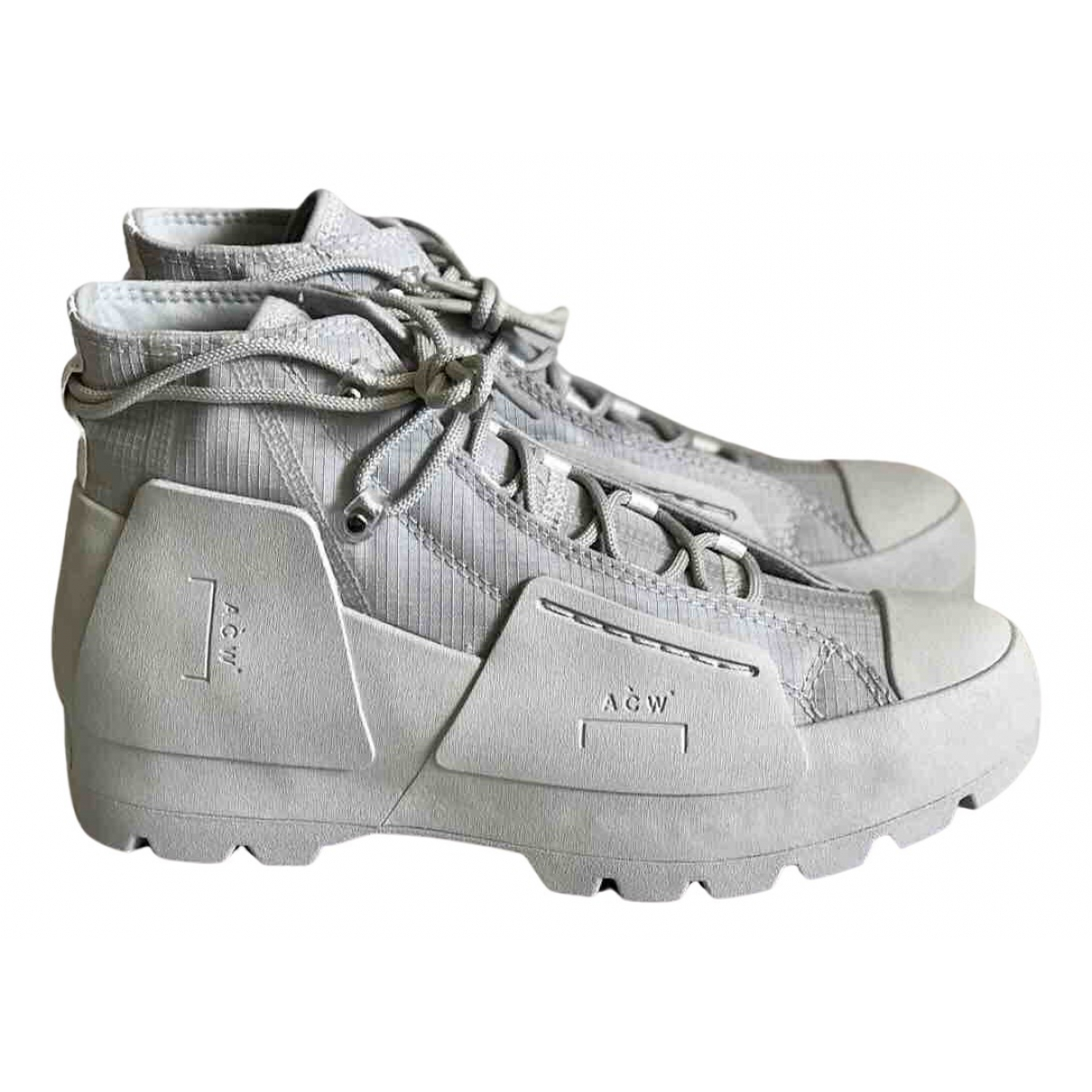 A-cold-wall \N Sneakers in  Grau Kunststoff