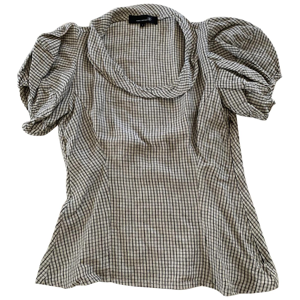 Isabel Marant - Top   pour femme en coton - ecru