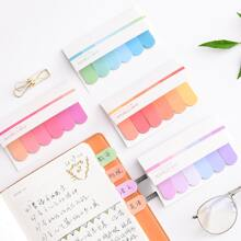 2packs Solid Sticky Note