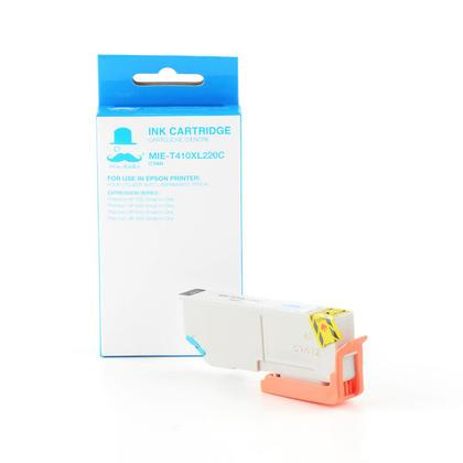 Compatible Epson Expression Premium XP-830 cyan cartouche d'encre de Moustache, grande capacite