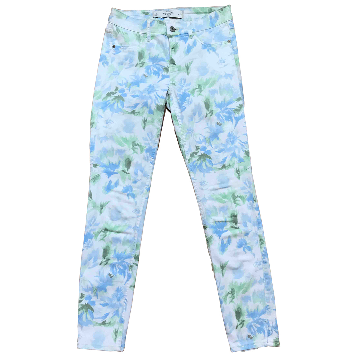 Abercrombie & Fitch \N Cotton - elasthane Jeans for Women 26 US