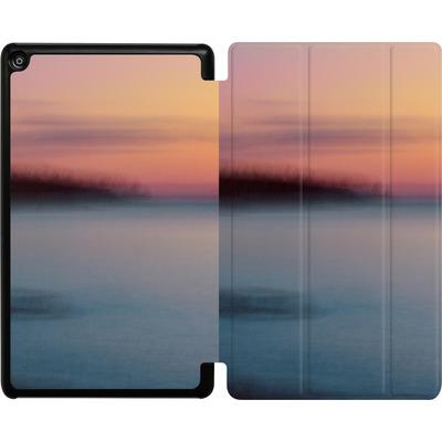Amazon Fire HD 8 (2018) Tablet Smart Case - Sea Sunset Abstract 2 von Joy StClaire