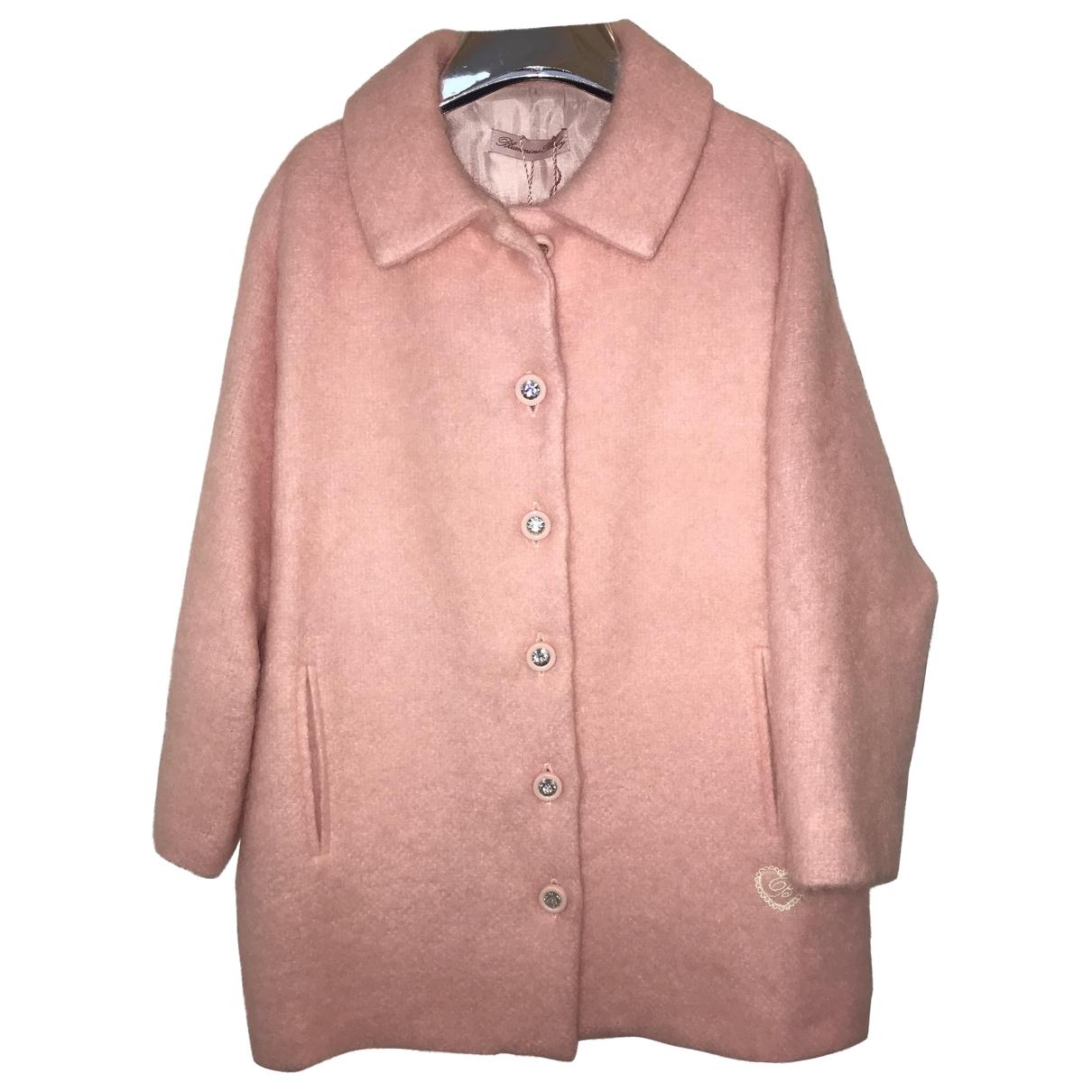 Blumarine - Blousons.Manteaux   pour enfant en laine - rose