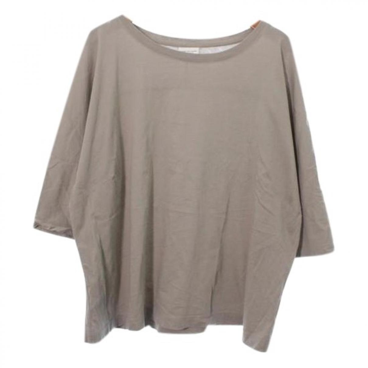 Dries Van Noten - Top   pour femme en coton - beige
