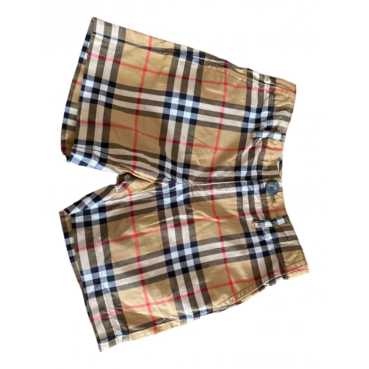 Burberry \N Shorts in  Bunt Baumwolle