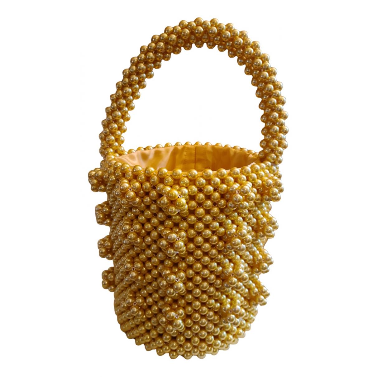 Shrimps Antonia Yellow handbag for Women \N