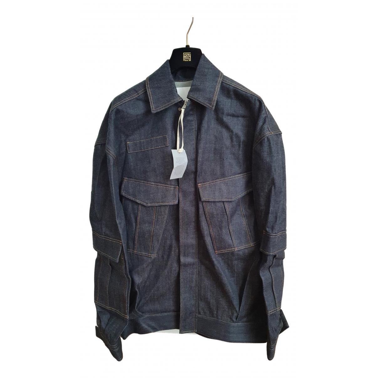 Fenty \N Lederjacke in  Blau Denim - Jeans