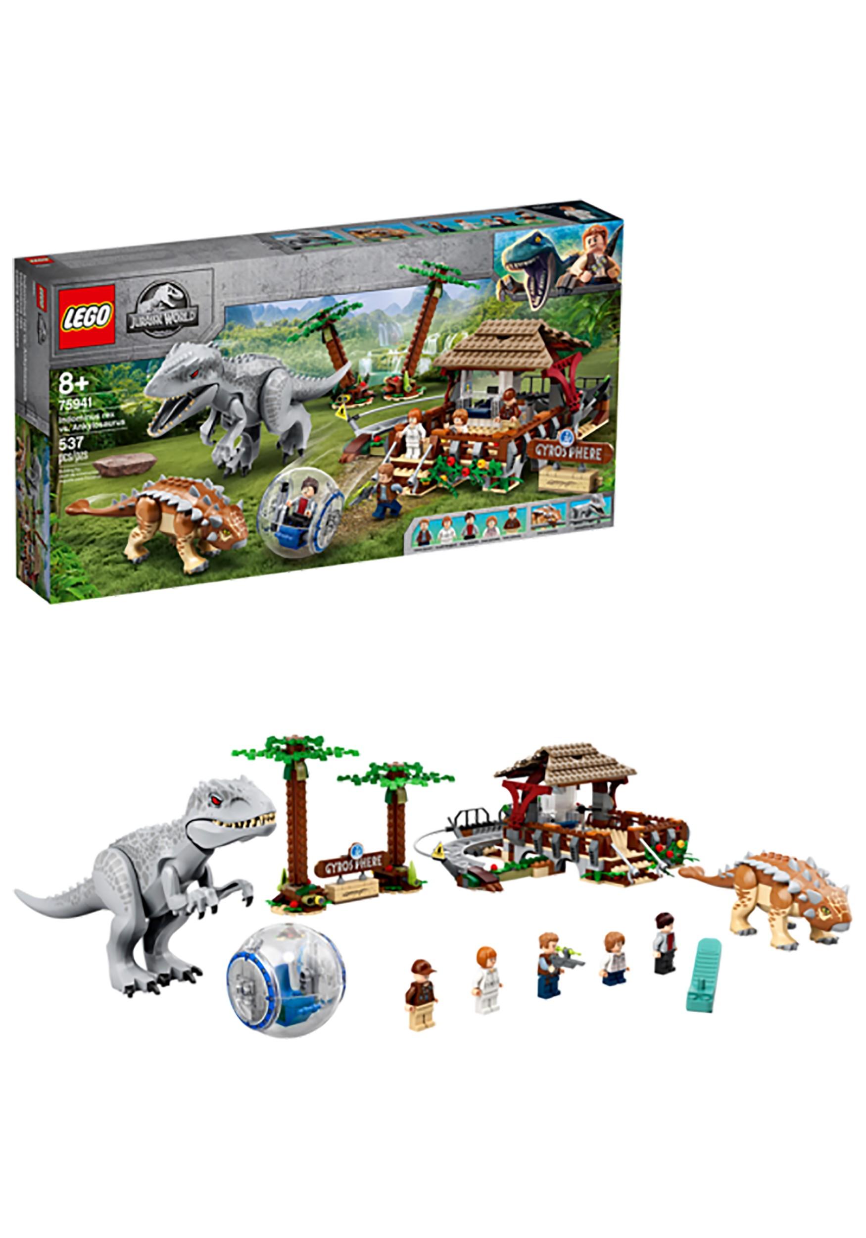 LEGO- Jurassic World Indominus Rex vs Ankylosaurus