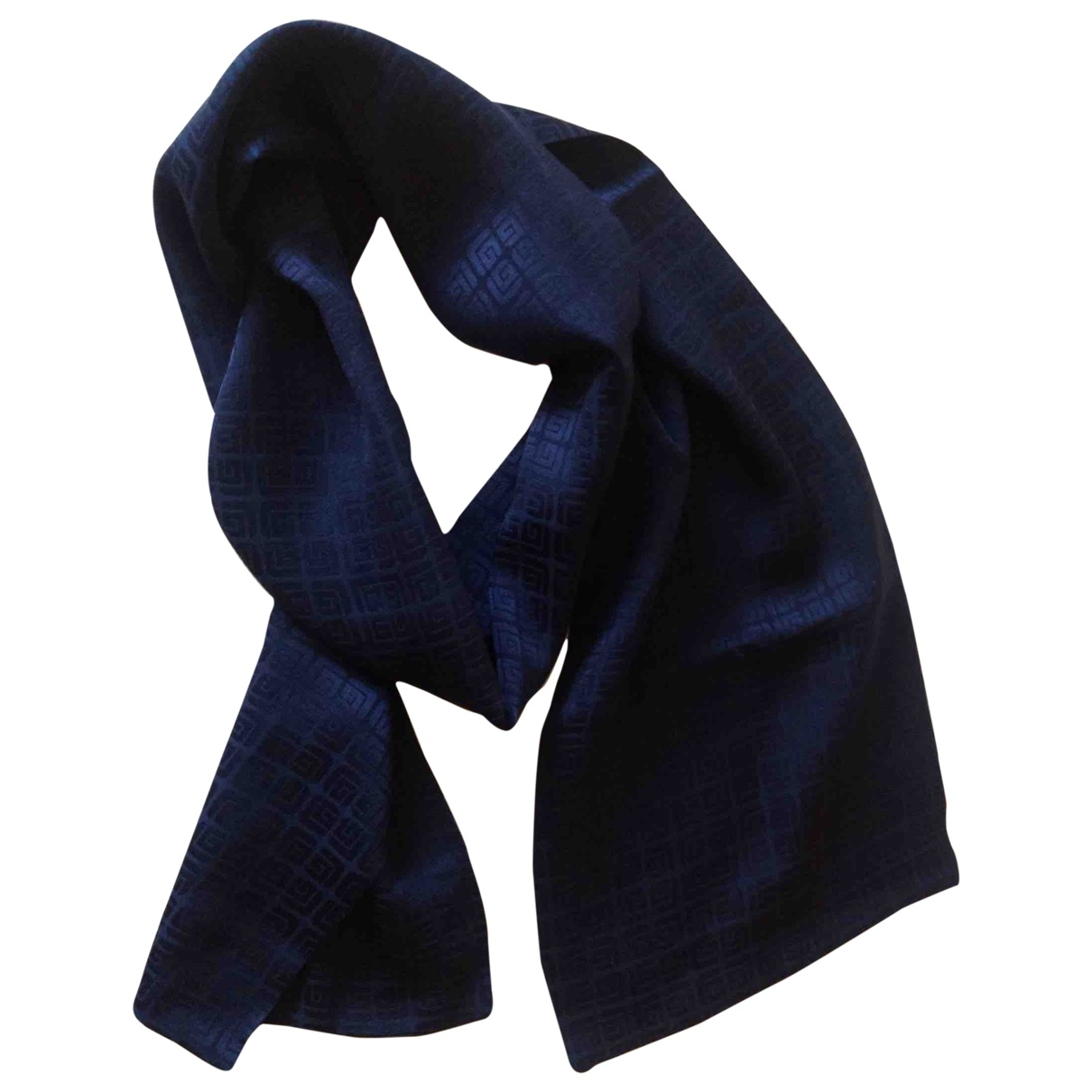 Guy Laroche \N Navy Silk scarf & pocket squares for Men \N