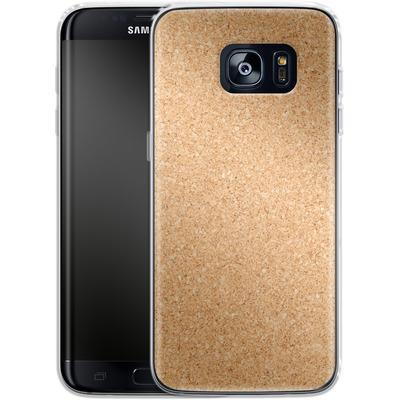 Samsung Galaxy S7 Edge Silikon Handyhuelle - Cork von caseable Designs
