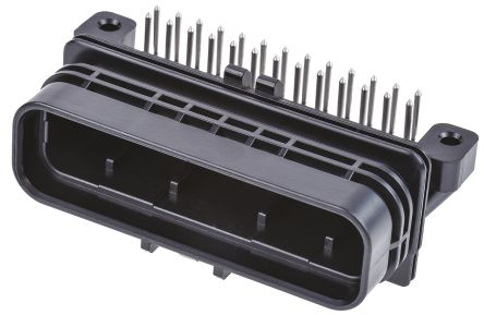TE Connectivity , SUPERSEAL Automotive Connector Plug 2 Row 26 Way, Solder Termination