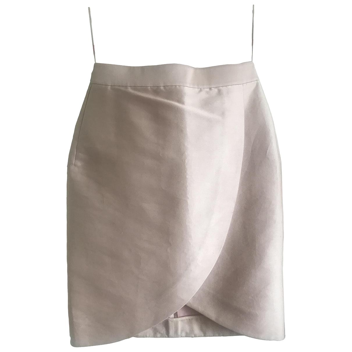 Stella Mccartney \N Pink Cotton skirt for Women 40 IT