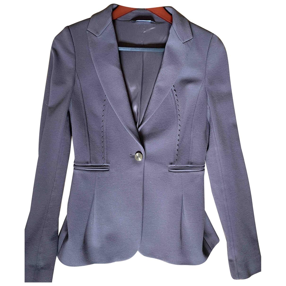 Liu.jo \N Purple Cotton jacket for Women 34 FR