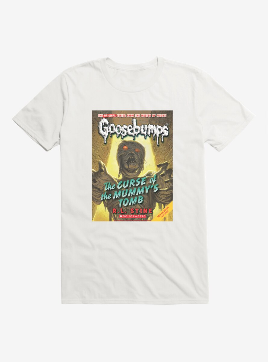 Goosebumps The Curse Of The Mummy's Tomb Book T-Shirt