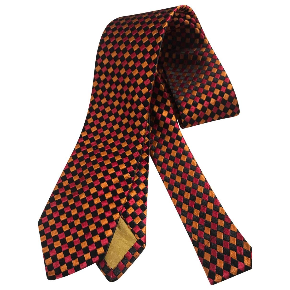 Yves Saint Laurent \N Krawatten in  Bunt Seide