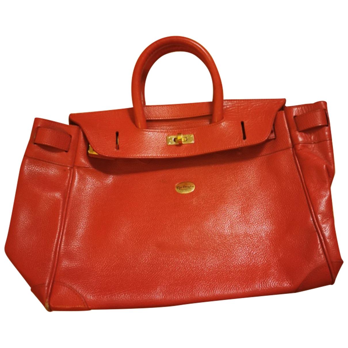 Mac Douglas - Sac a main   pour femme en cuir - rouge