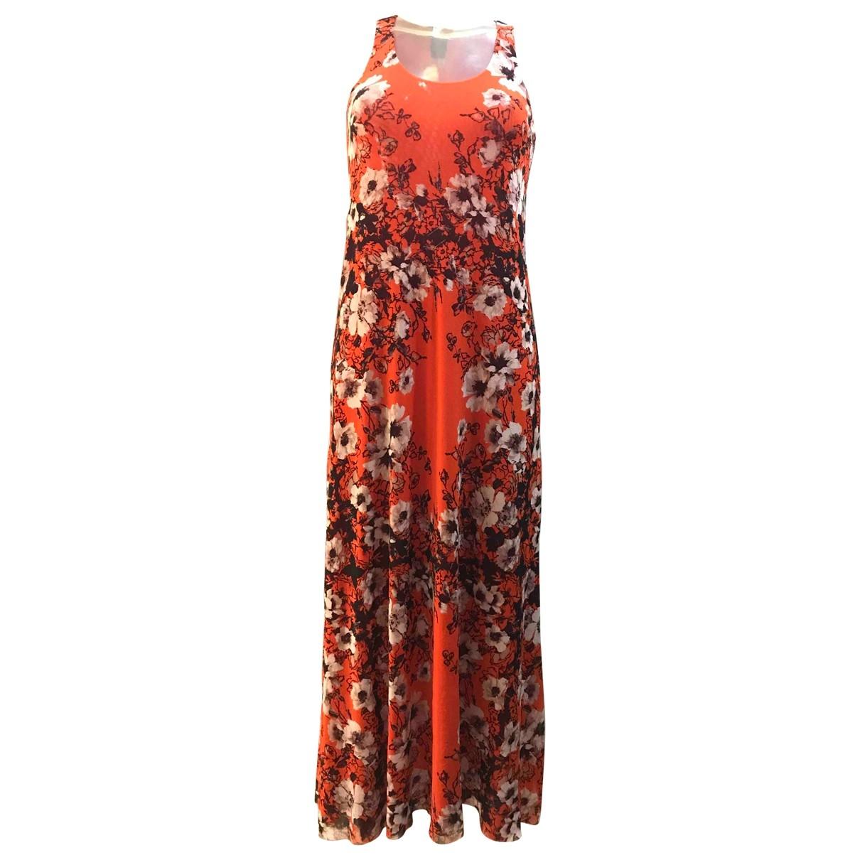 Jean Paul Gaultier \N Kleid in  Orange Synthetik