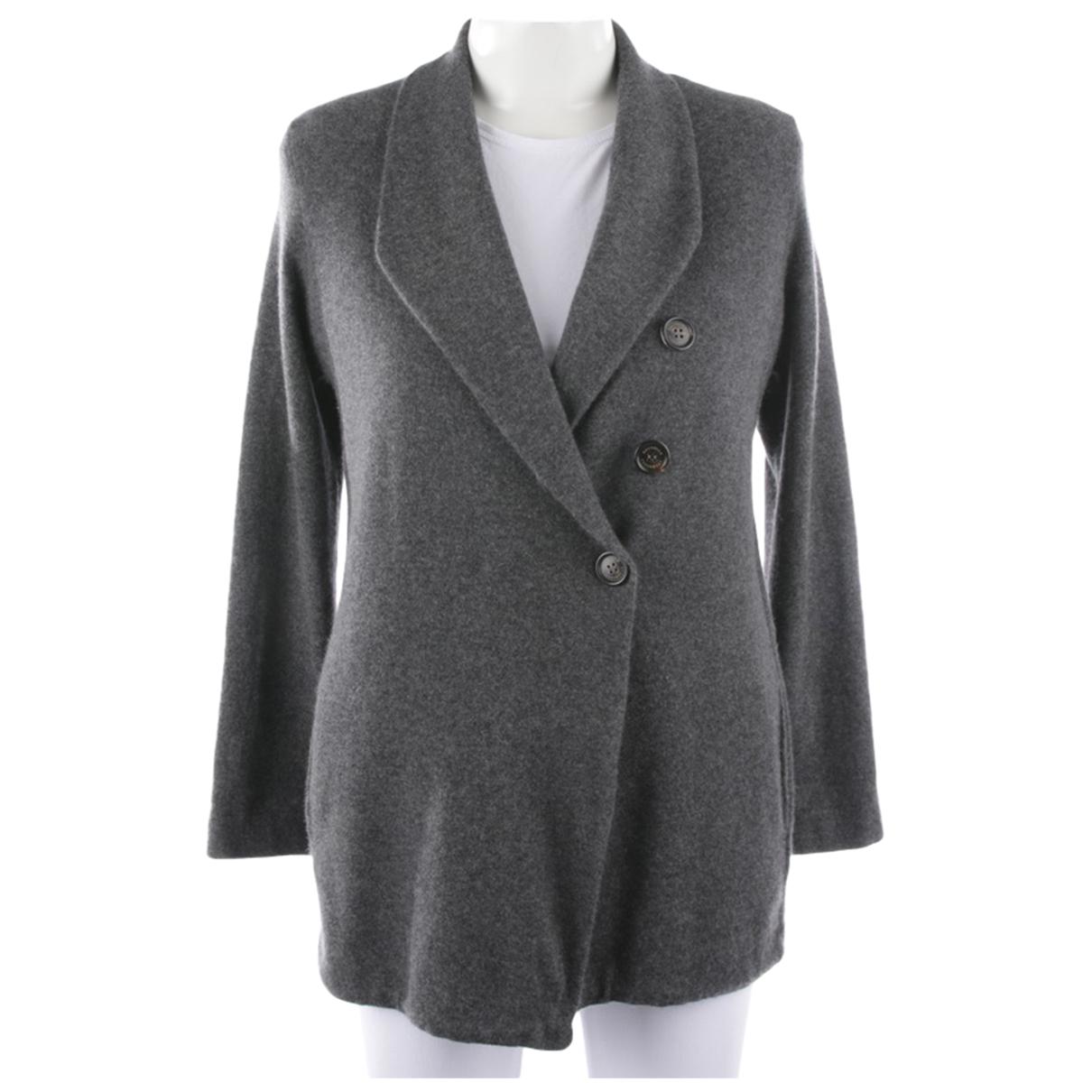Brunello Cucinelli \N Pullover in  Grau Wolle