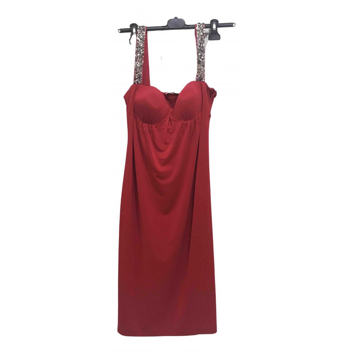 Marella \N Kleid in  Rot Mit Pailletten