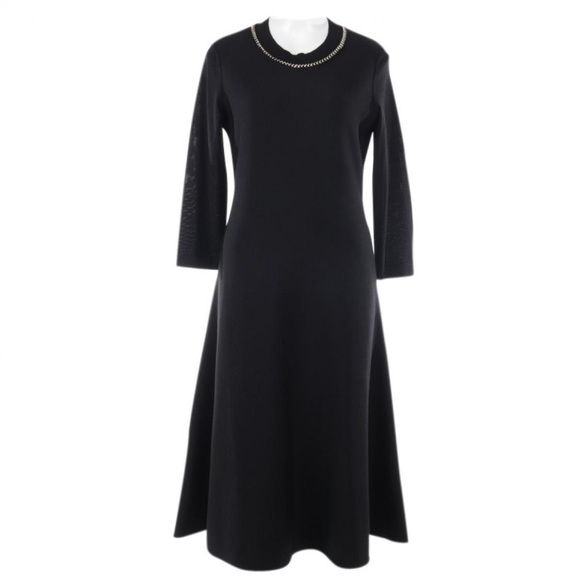 Salvatore Ferragamo \N Black Wool dress for Women L International