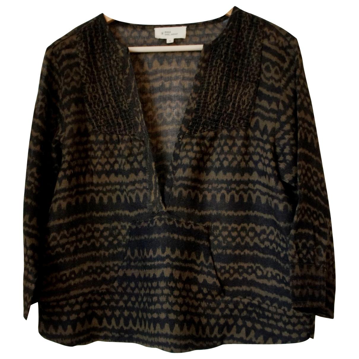 Isabel Marant Etoile \N Top in  Khaki Wolle