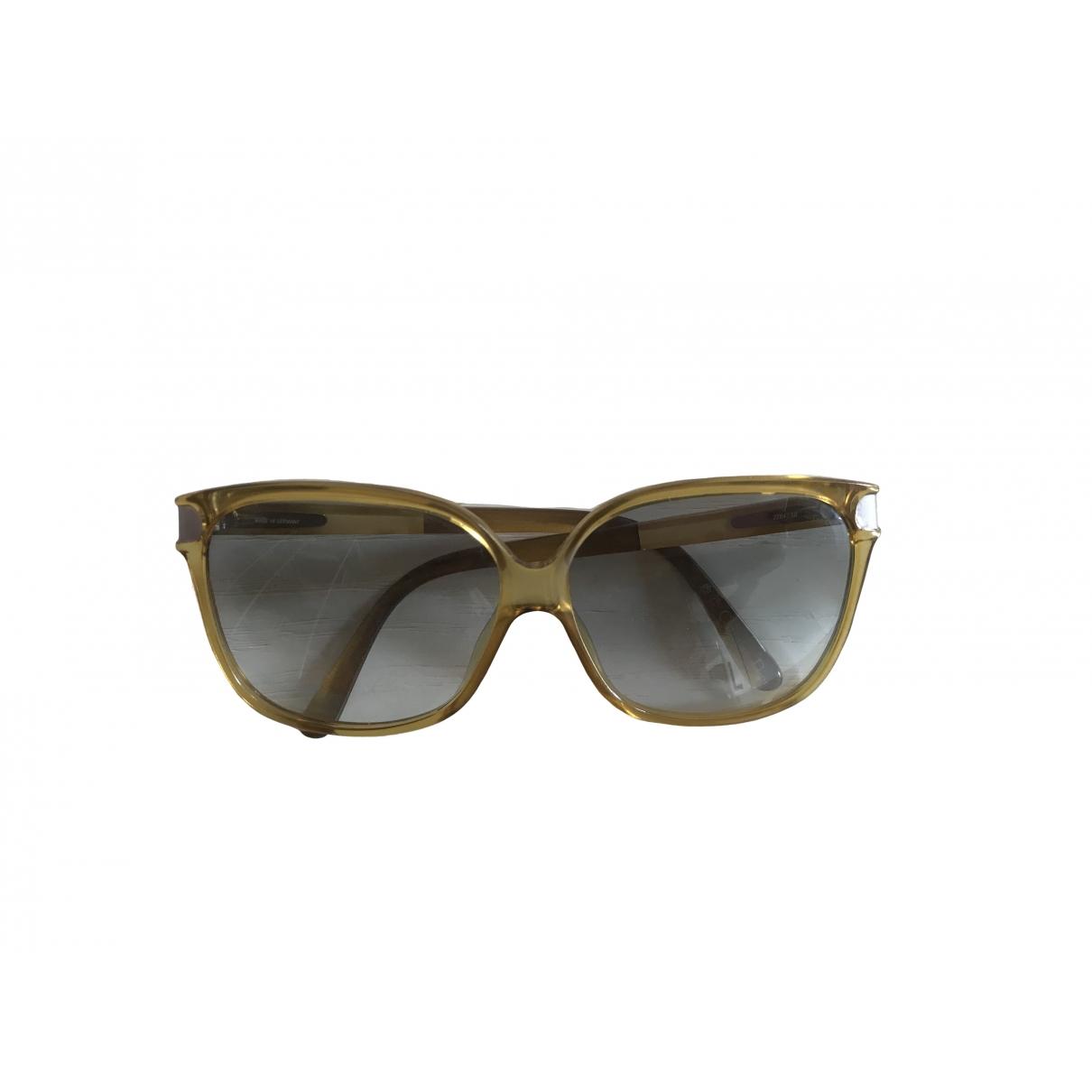 Dior \N Sonnenbrillen in  Gelb Kunststoff