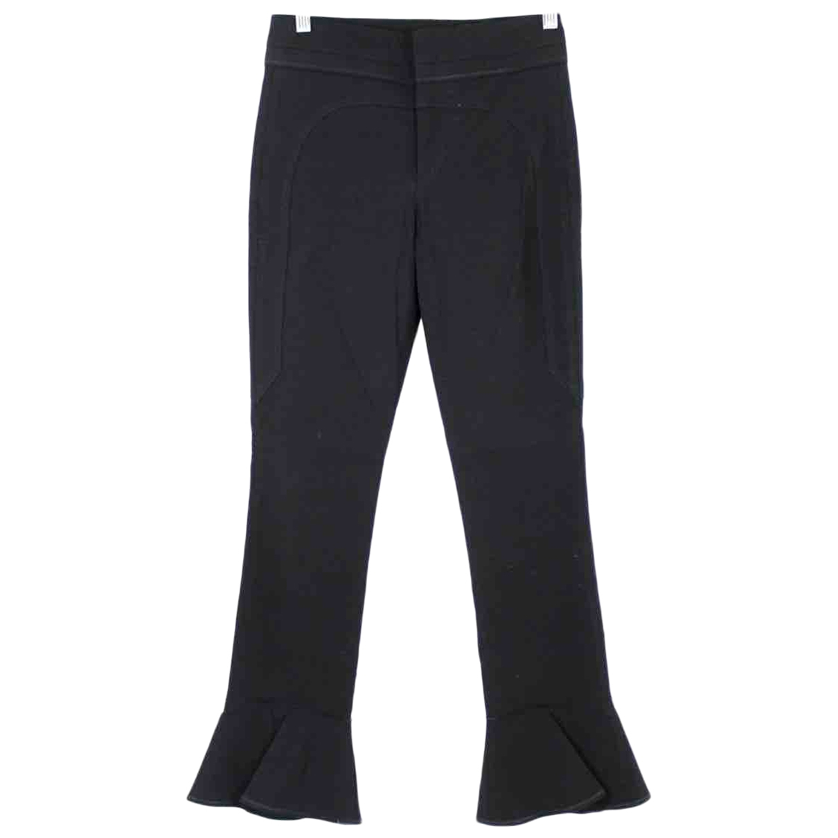 Isabel Marant \N Navy Cotton Trousers for Women 36 FR
