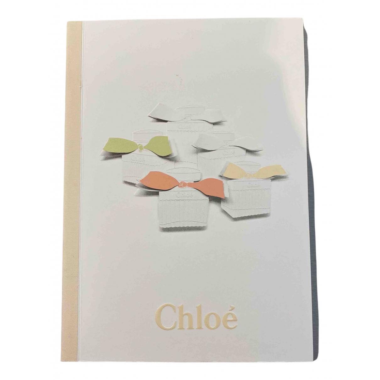 Chloe - Objets & Deco   pour lifestyle - blanc
