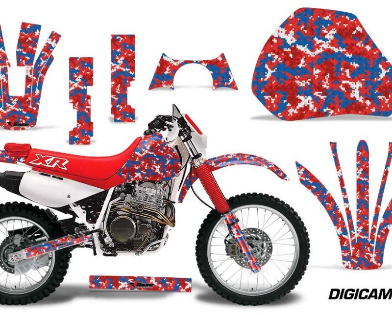 AMR Racing Dirt Bike Graphics Kit Decal Sticker Wrap For Honda XR 600R 1991-2000áDIGICAMO USA