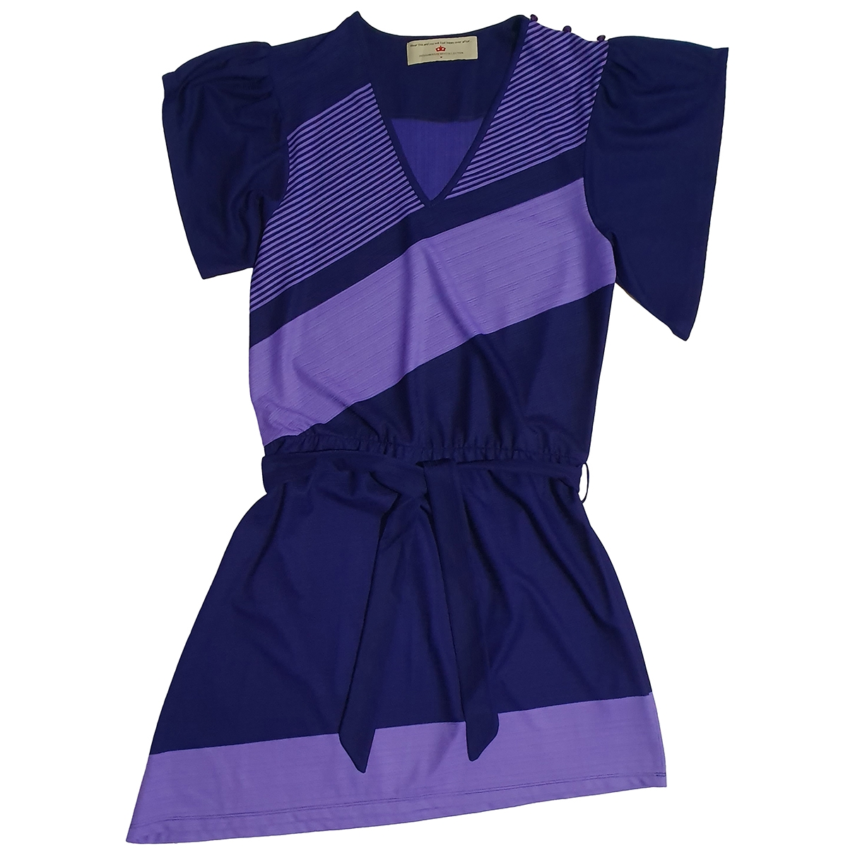 Designers Remix \N Kleid in  Lila Polyester
