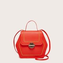 Handtasche mit Stich Dekor
