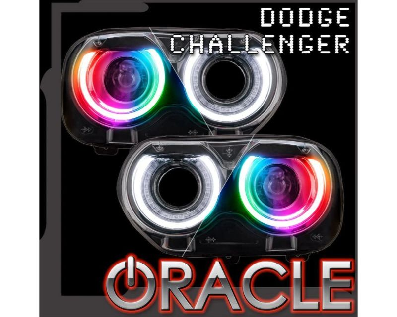 Oracle Lighting 1329-330 RGB+W Drl Replacements ColorSHIFT Dodge Challenger 2015-2021