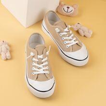 Toddler Boys Cap Toe Canvas Shoes