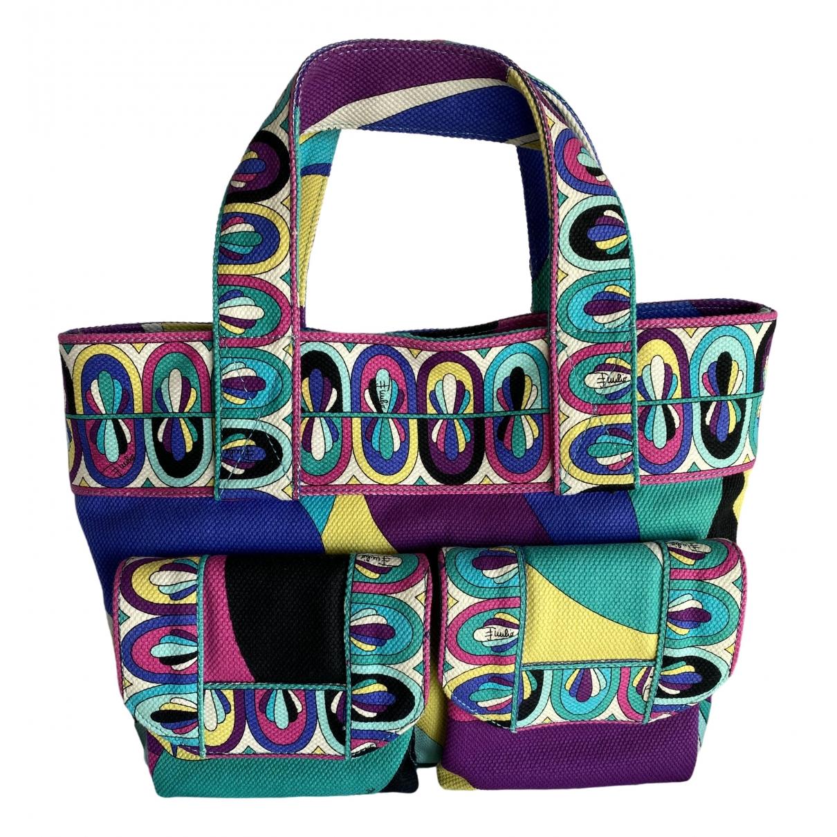 Emilio Pucci \N Multicolour Cotton handbag for Women \N