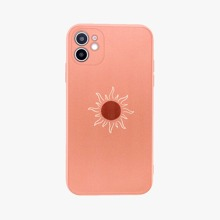 1pc Silicone Frame iPhone Case