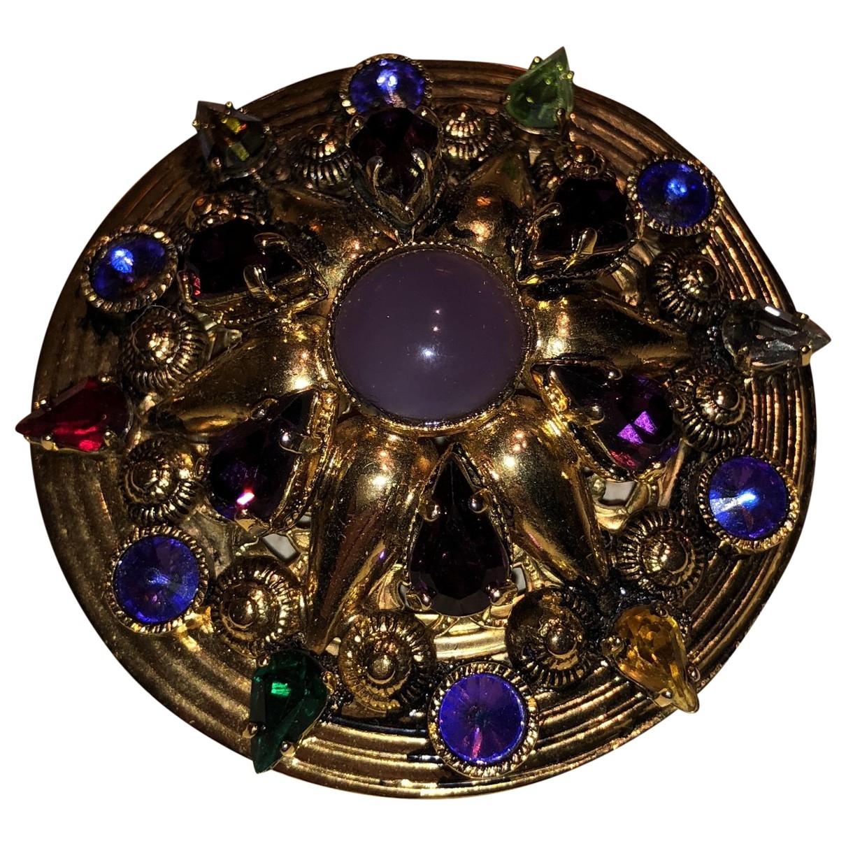Broche en Metal Multicolor Dolce & Gabbana