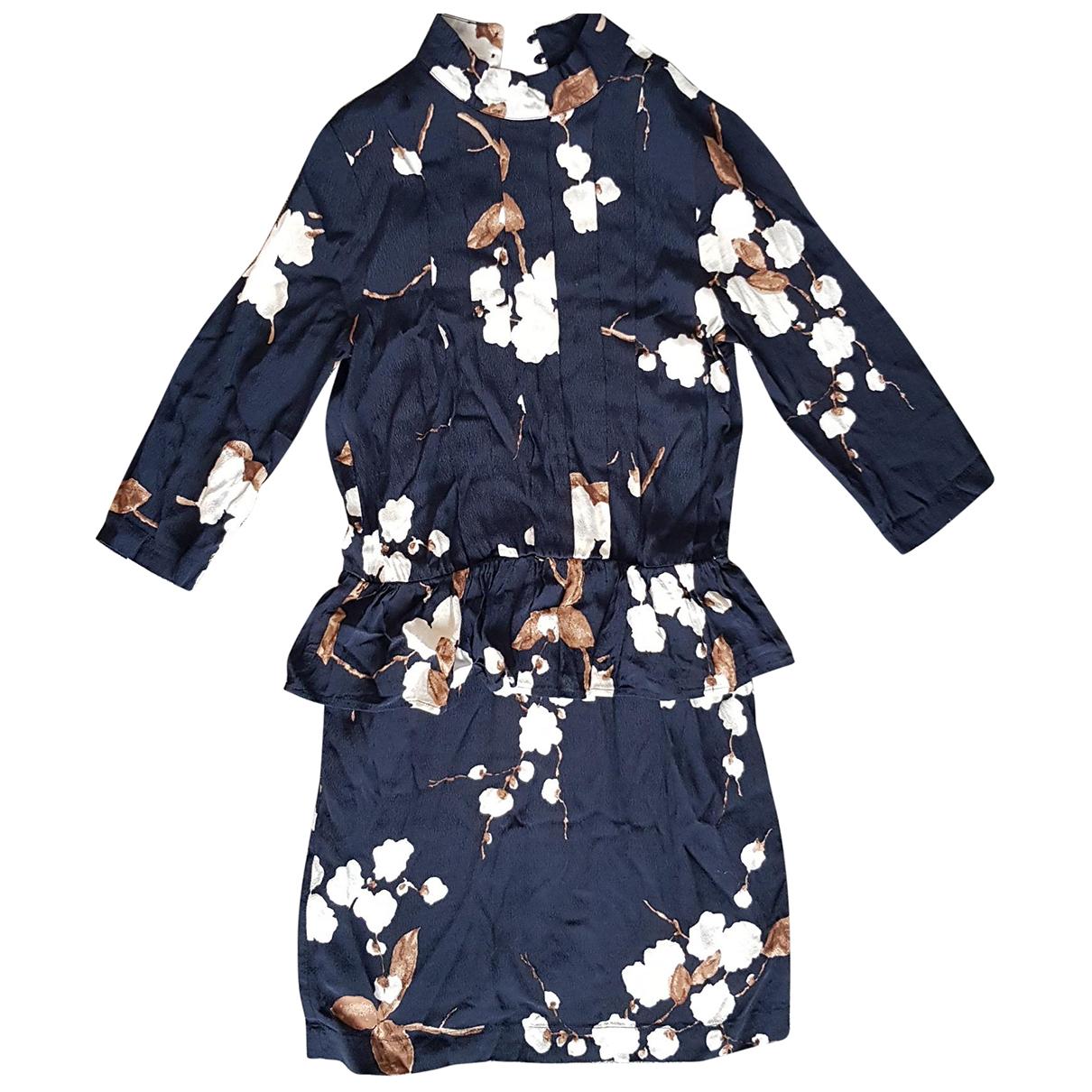 Ganni - Robe   pour femme - marine