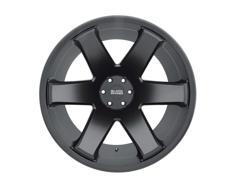Black Rhino Raze Matte Black Wheel 20x12 8x165.10|8x6.5 -44mm CB122.1