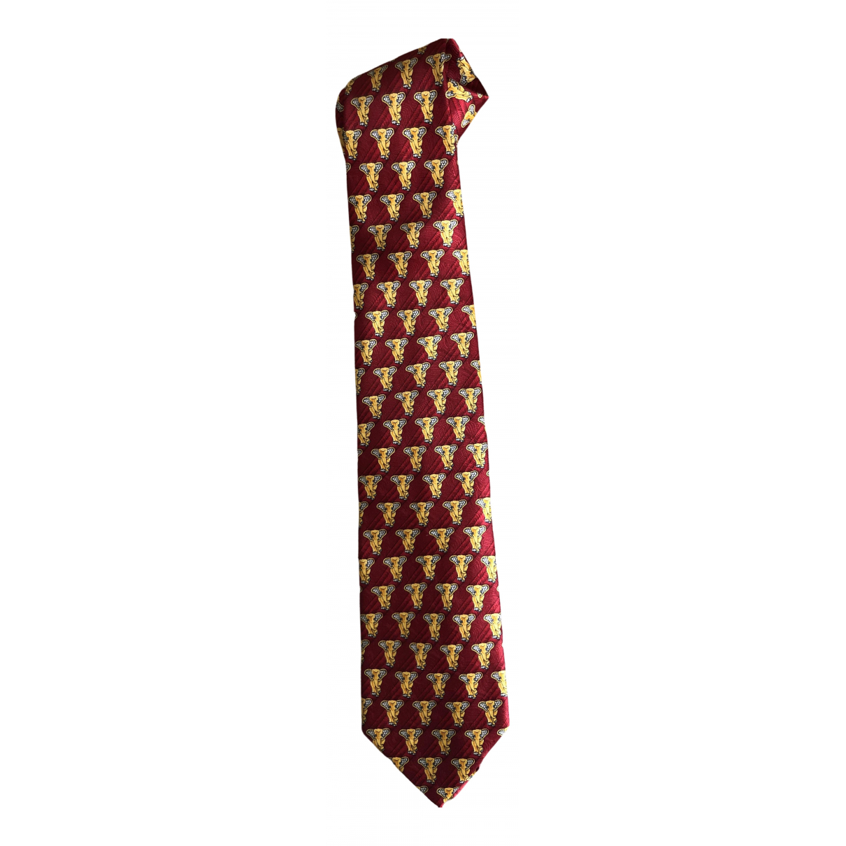 Escada - Cravates   pour homme en soie - rouge