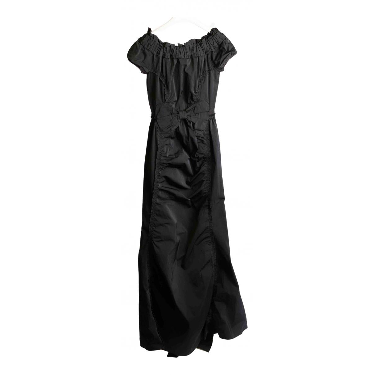 Nina Ricci \N Kleid in  Schwarz Synthetik