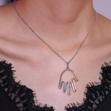 Hand Pendant Necklace